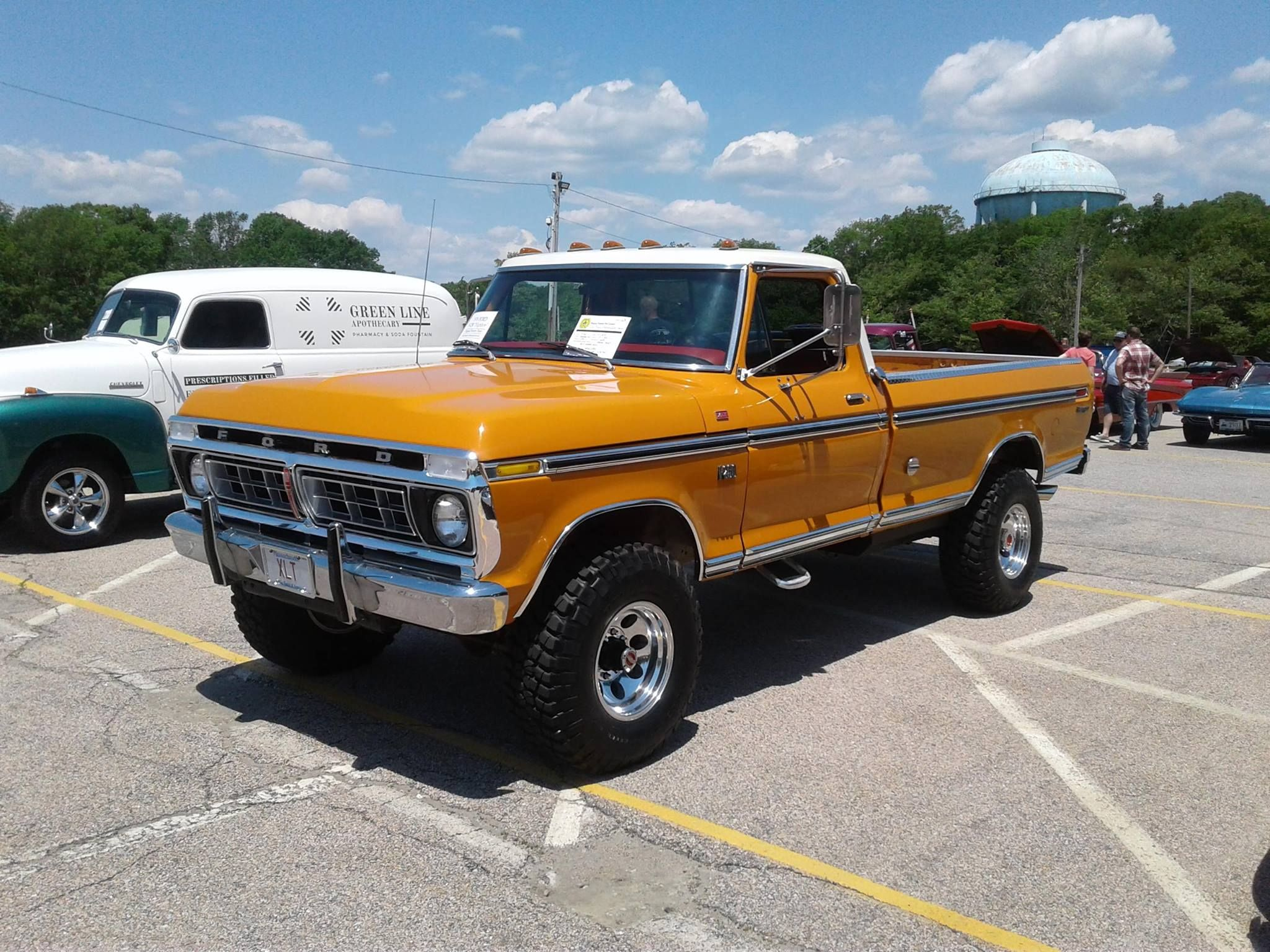 1976 Ford F 250 Highboy Ford Trucks Ford 4x4 Cool Trucks