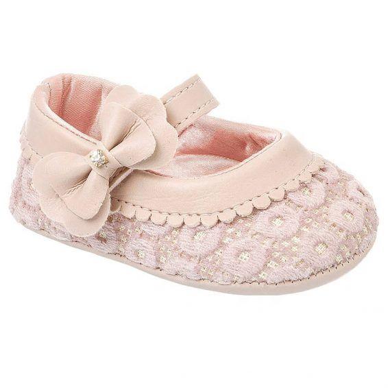 755456e953 Sapatinho de Bebê Feminino Klin