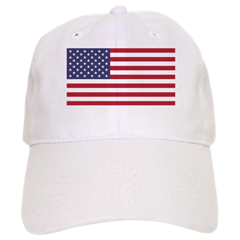 American Flag Baseball Cap By Wild World Marketplace Cafepress In 2020 Red And Blue Baseball Hats American Flag