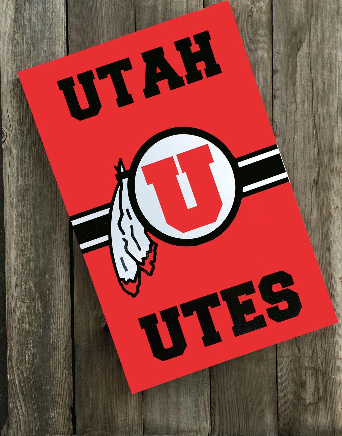 Utah Utes Porch Sign And Decor Etsy Utah Utes Utes College Decor [ 1505 x 1179 Pixel ]