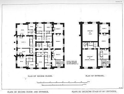 3 3 Mansion Floor Plans Le Petit Trianon Paris France