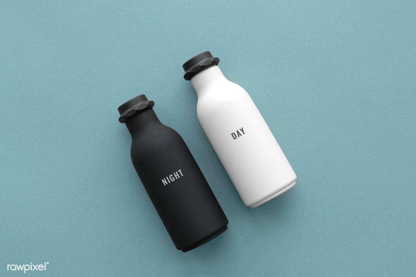 Download Premium Psd Of Minimal Reusable Water Bottle Mockup Design 1209891 Bottle Mockup Water Bottle Design Mockup Design