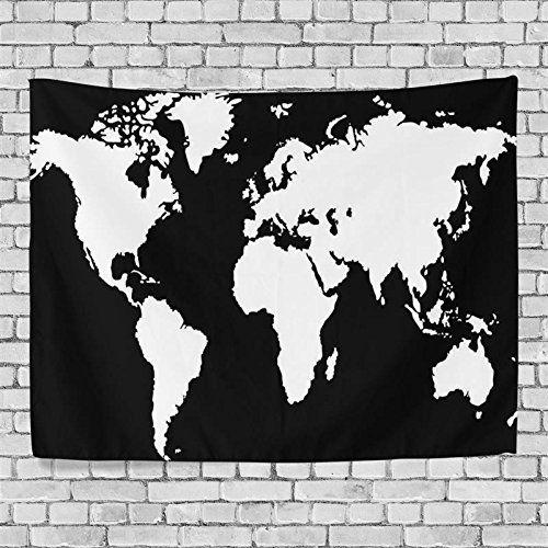 Artpanda black and white world map tapestry blacklight ab dream artpanda black and white world map tapestry blacklight ab gumiabroncs Gallery