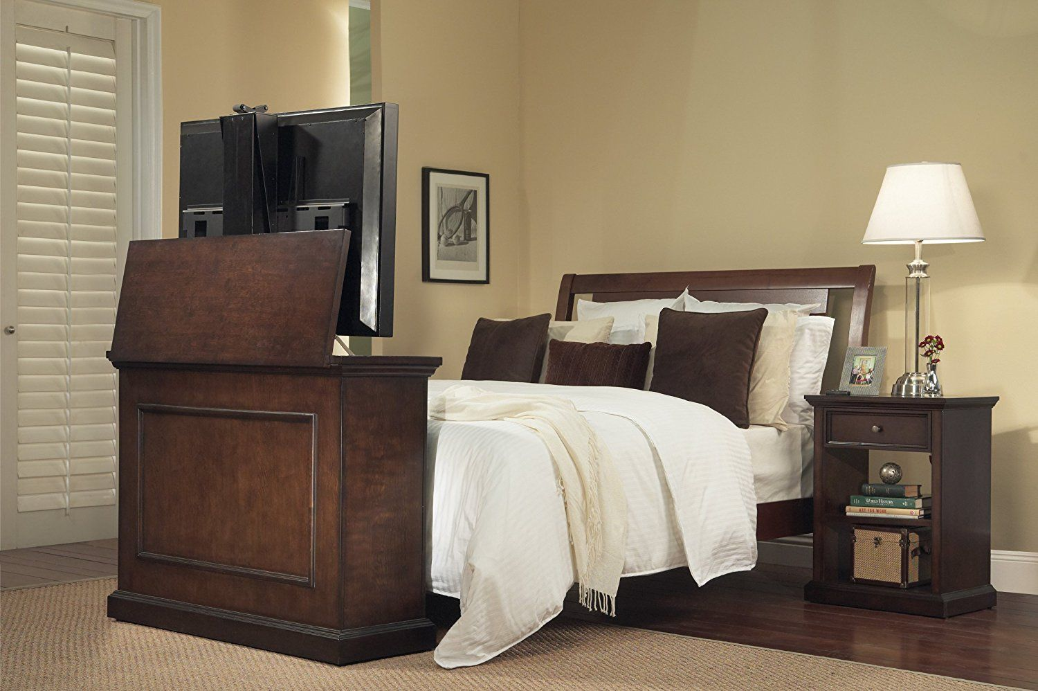 Bedroom Touchstone Elevate Tv Lift Cabinet Wid On Tv Lift Cabinets