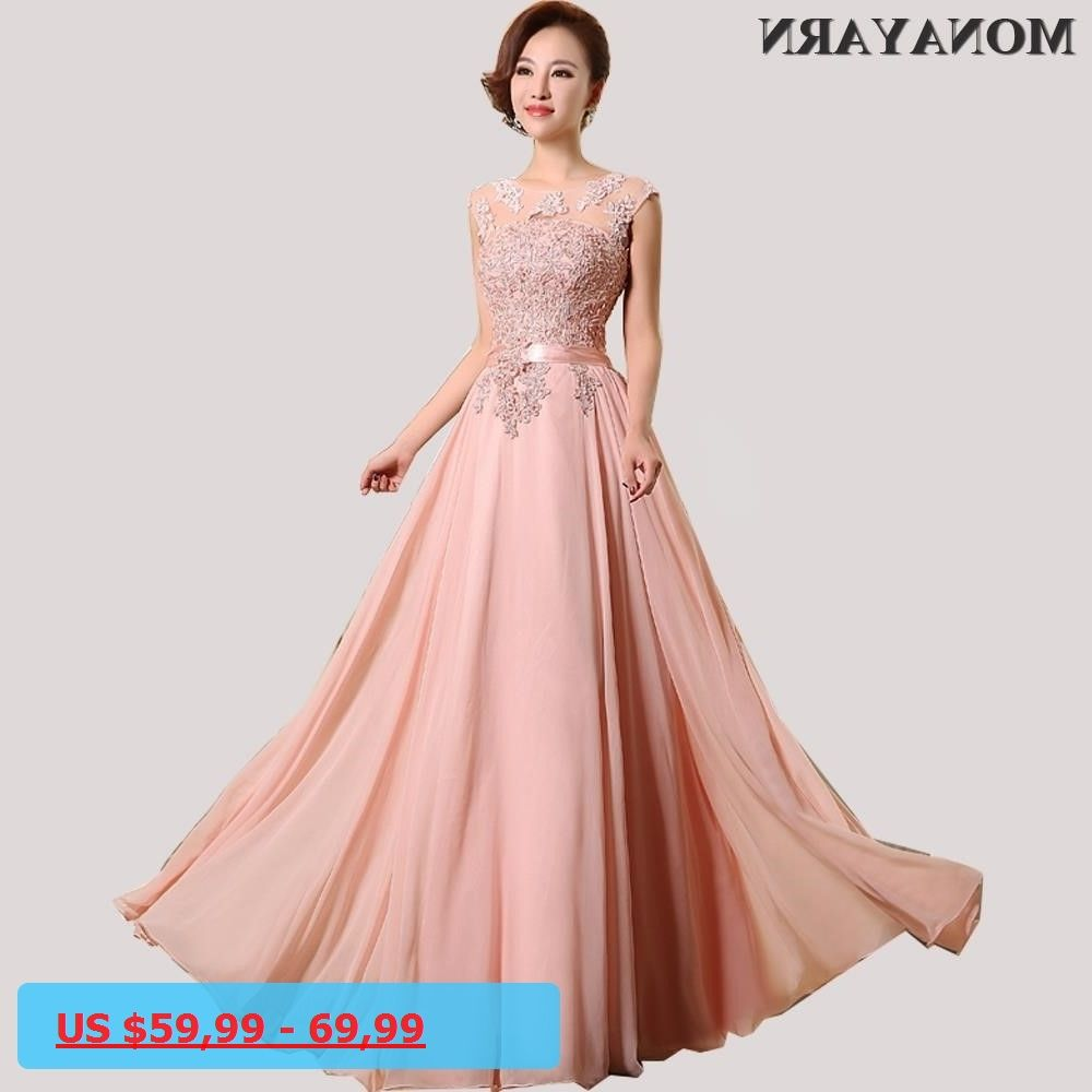 Evening Dresses Cheap 2017 Hot Sleeve Floor-Length Party Dresses ...