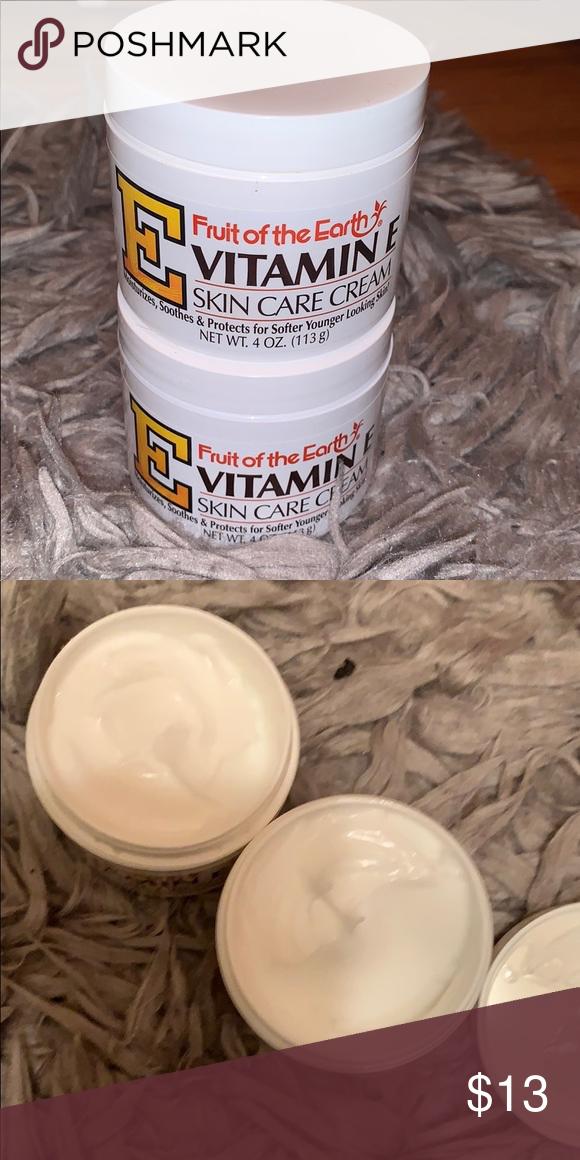 Vitamin E Skin Care Cream Vitamin E Skin Care Cream Two Jars Other In 2020 Skin Care Cream Vitamin E Skin Care