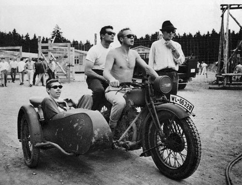 Steve Mcqueen The Great Escape Motorcycle Machines