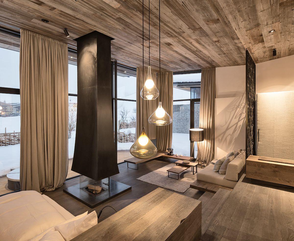 Hotel wiesergut gogl architekten photo mario webhofer for Innsbruck design hotel