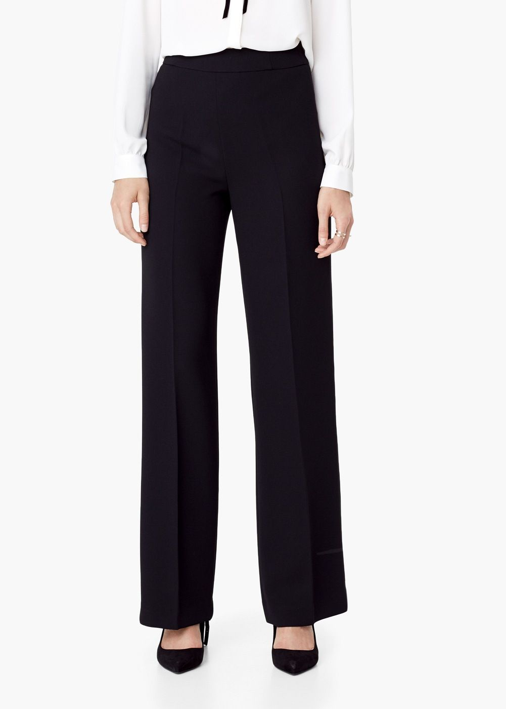Pantalon taille haute - Femme   whish list shopping f5445ed60af