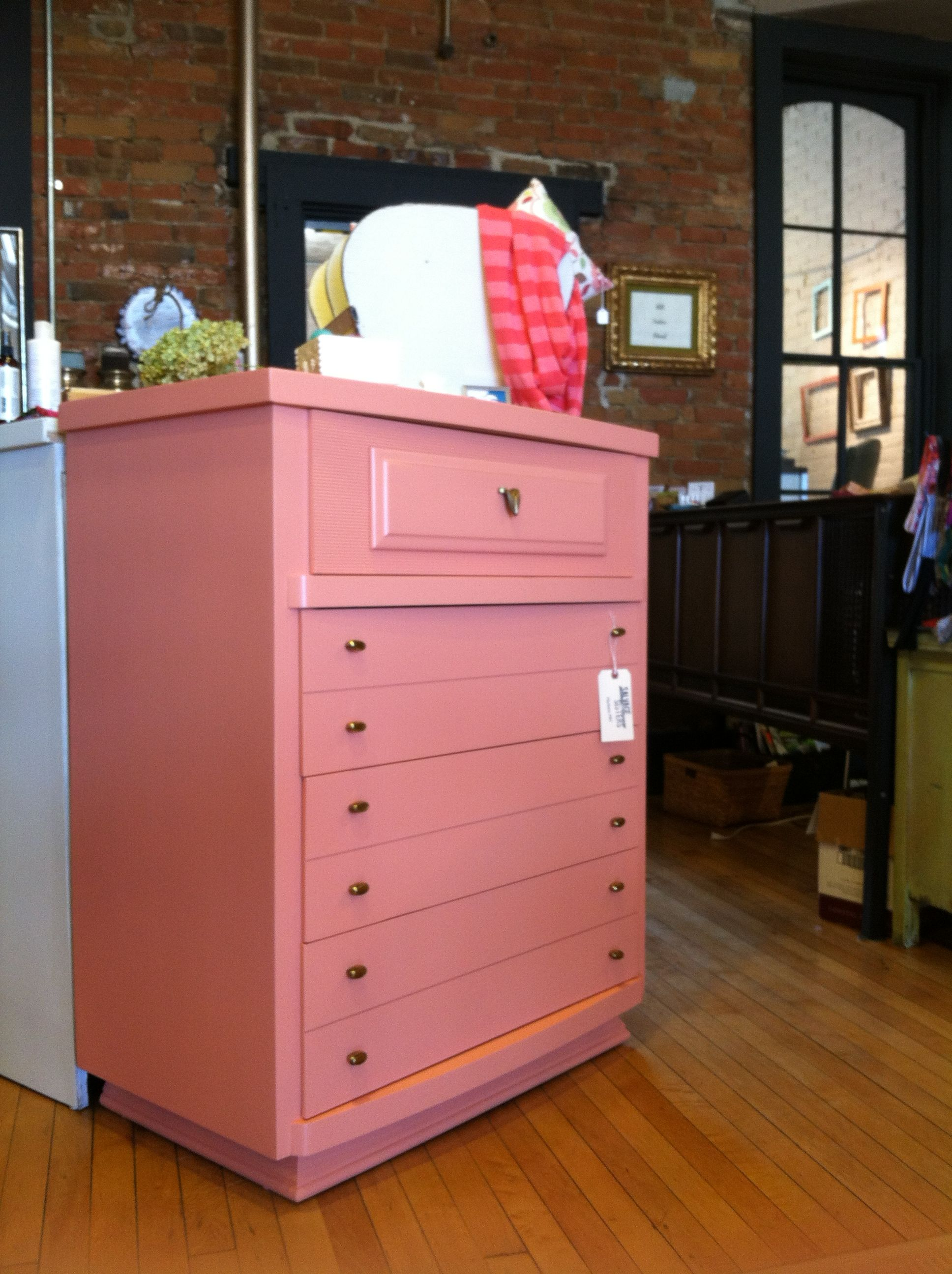 Ombre technique supplies and tips from sherwin williams - Sherwin Williams Sockeye 40 S Era Chest Of Drawers