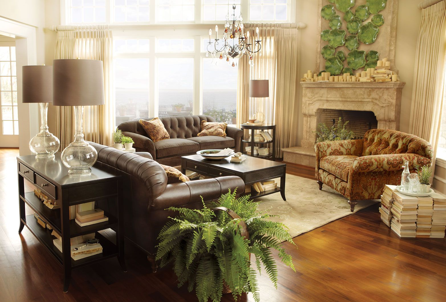 who makes arhaus leather sofas repairing sofa cushion i love this room - which me think we're not so stuck ...