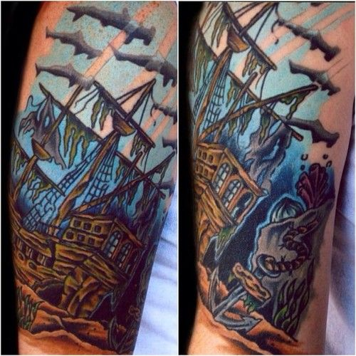 Underwater Shipwreck Tattoo More shipwreck ...