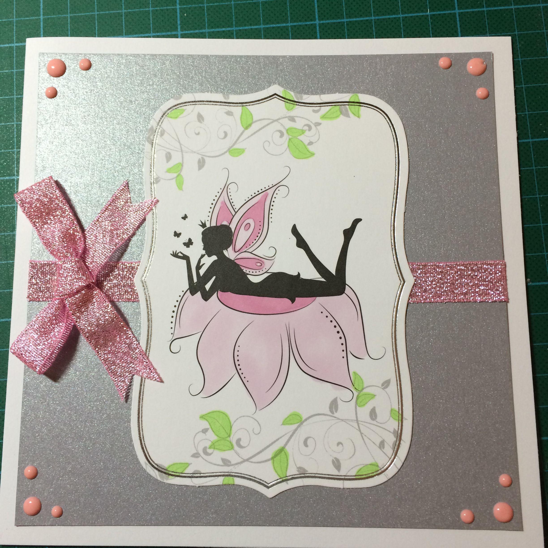 Fairy card made using Lellibot