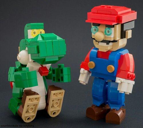 Lego Mario La Maison De La Geekerie Pinterest Lego Mario