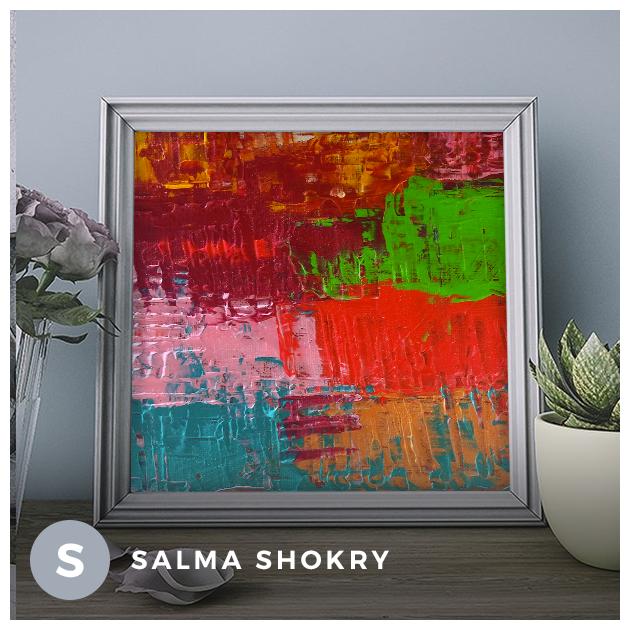 Colormania Salma Shokry Art Space Space Art Art Abstract