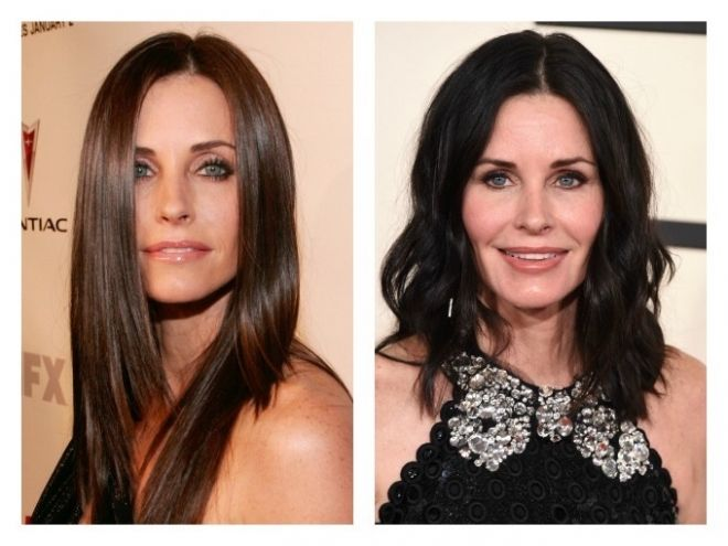 Courteney Cox Plastic Surgery Celebrity Botox