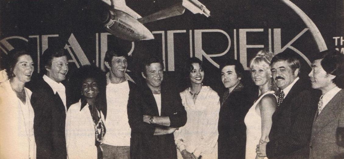 Star Trek the motion picture cast