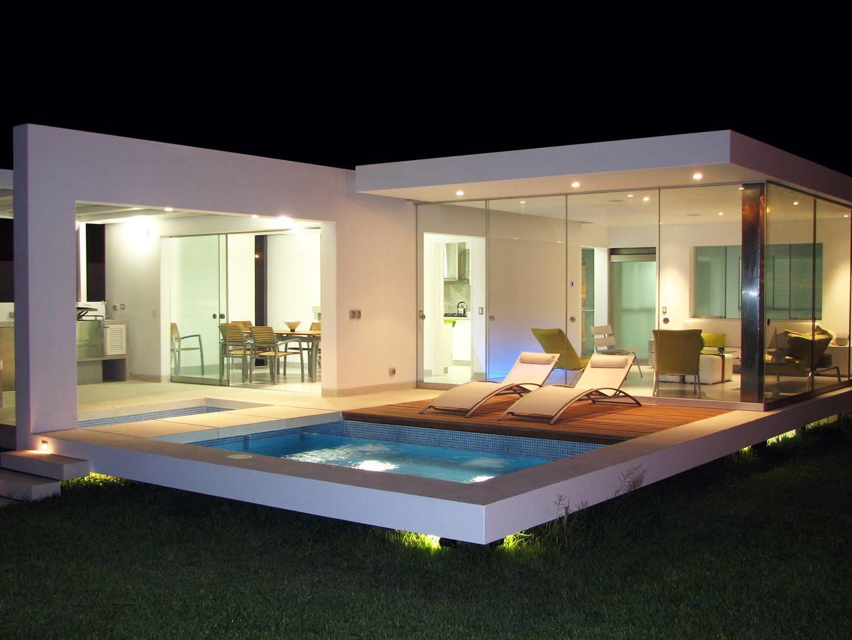 iluminación en alberca y terrazas. #iluminaciónled | iluminación