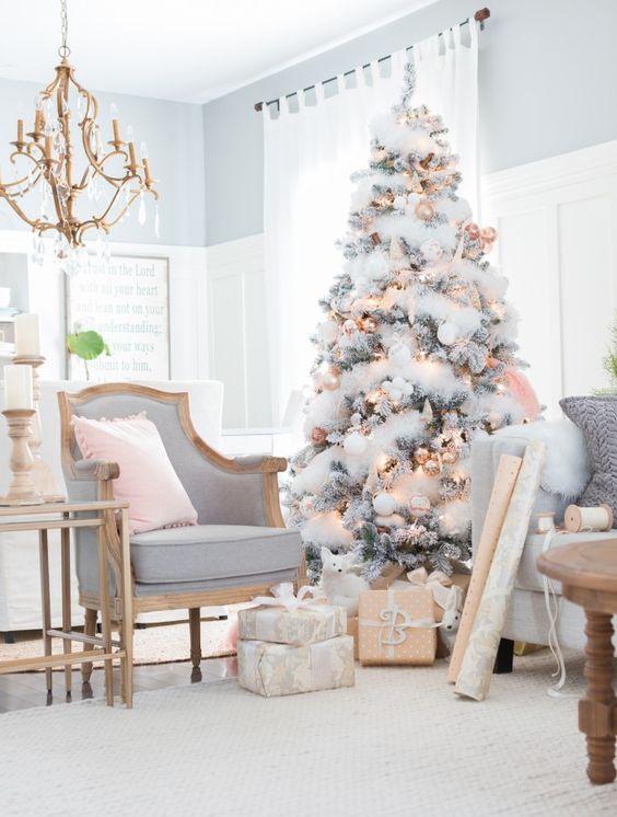 Le Guide Complet De La Décoration De Noël En 2019 Sapin De
