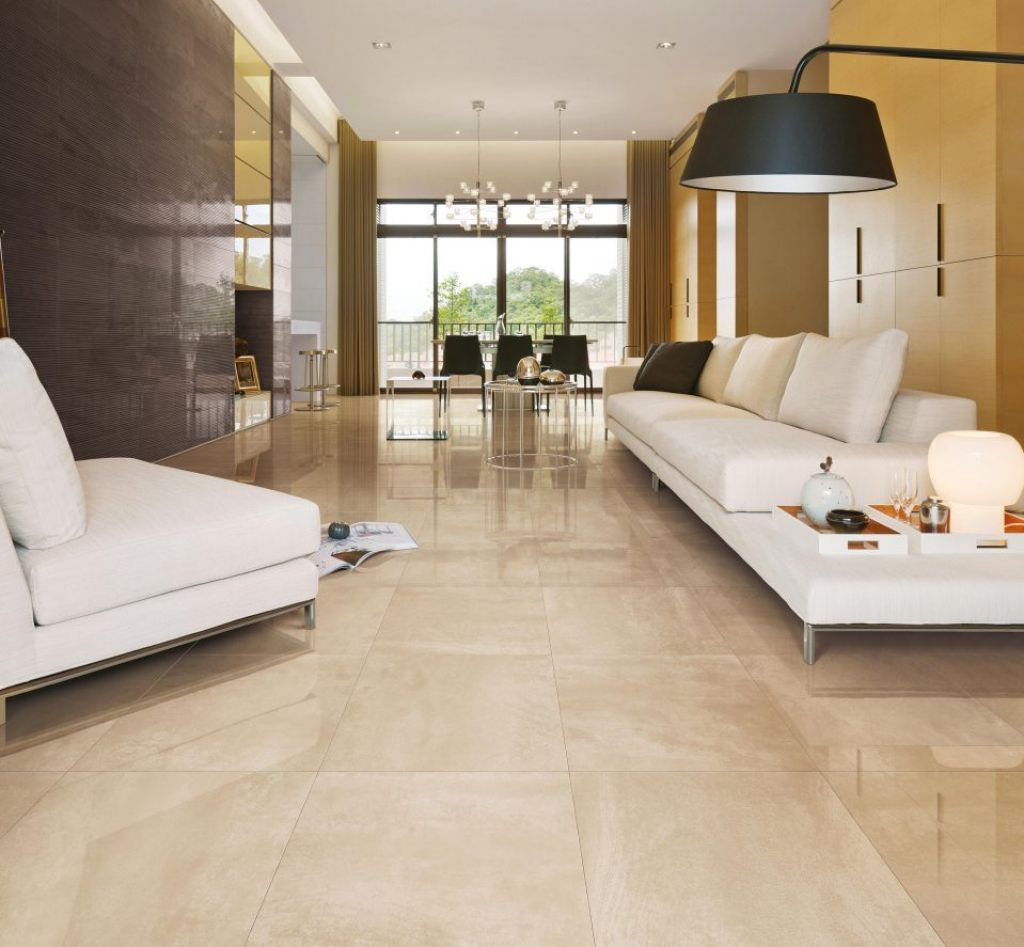 fliesen wohnzimmer beige  Living room tiles, Tile floor living