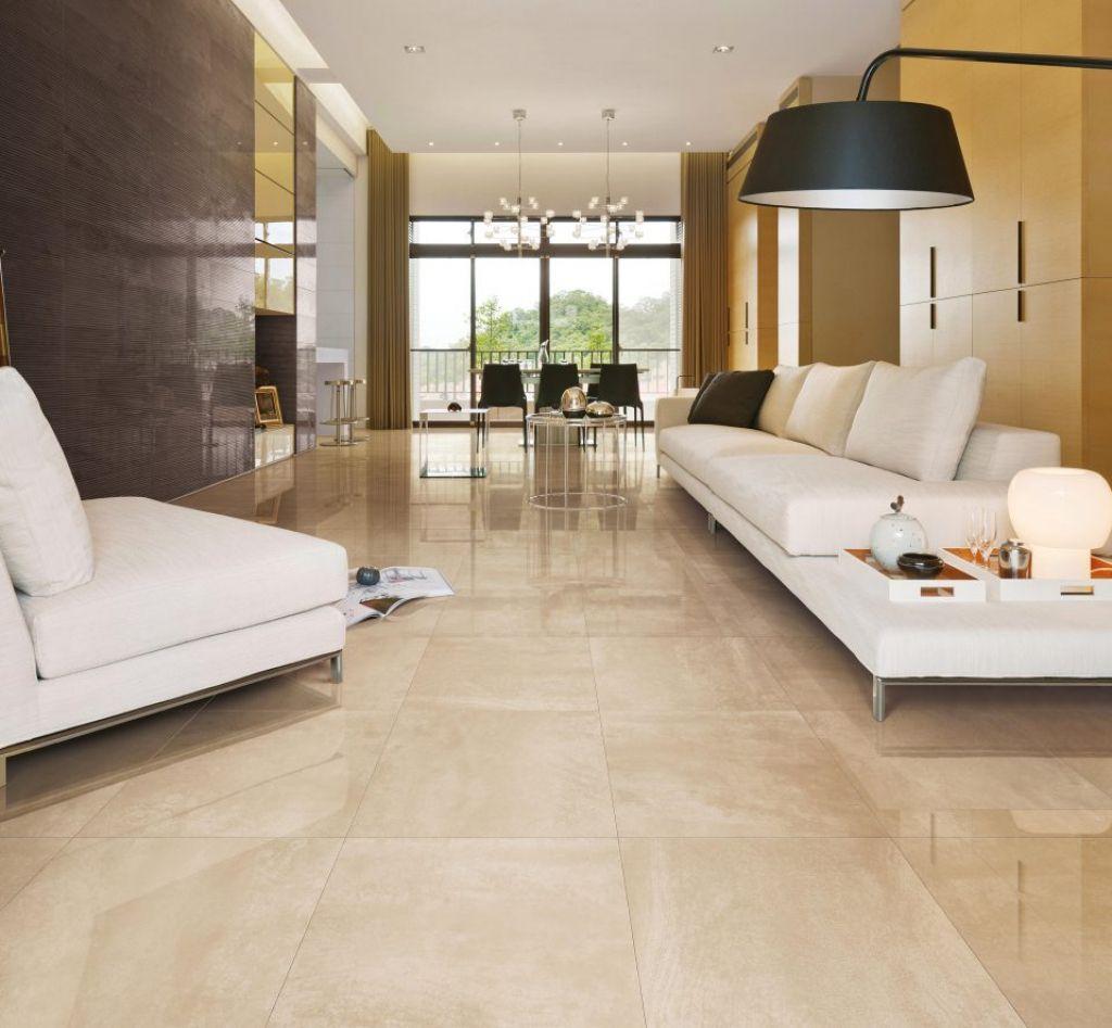 Raumgestaltung Farbe Beige Anthrazit Braun Raumgestaltung: Fliesen Wohnzimmer Beige