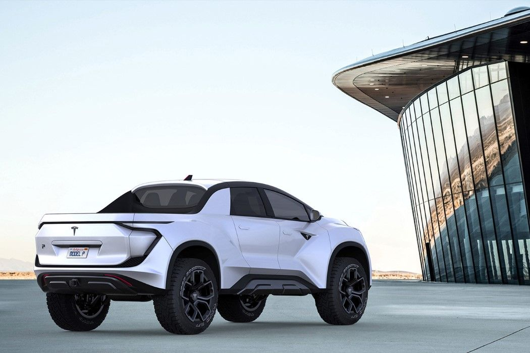 This Tesla Pickup Concept Is Driving Me Crazy Yanko Design
