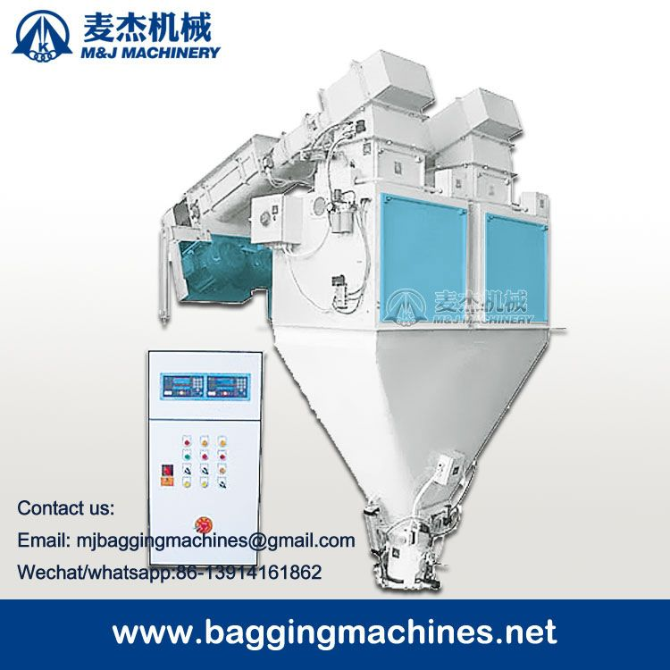 semi automatic 25kg 50kg premix feed packing scale, premix feed