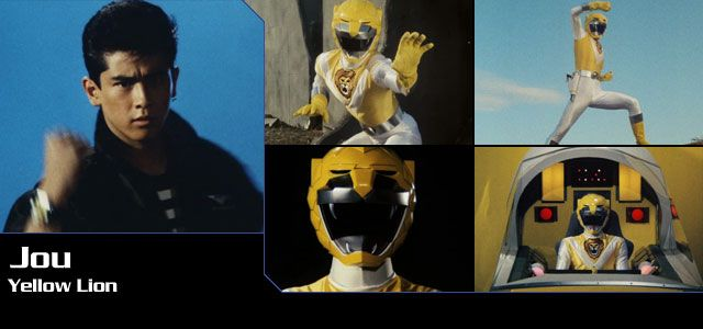 Jou (Yellow Lion) - Choujuu Sentai Liveman | Super Sentai Central