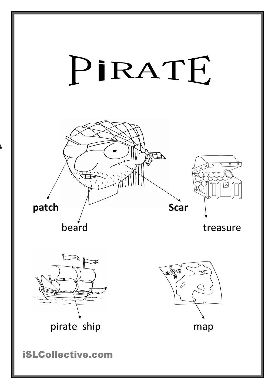 Pirate Pirate Activities Pirates Ship Map [ 1440 x 1018 Pixel ]