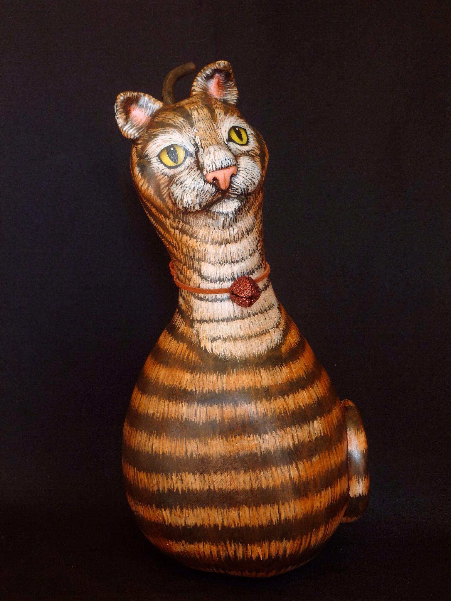 Cat gourd by Kim Gladfelter