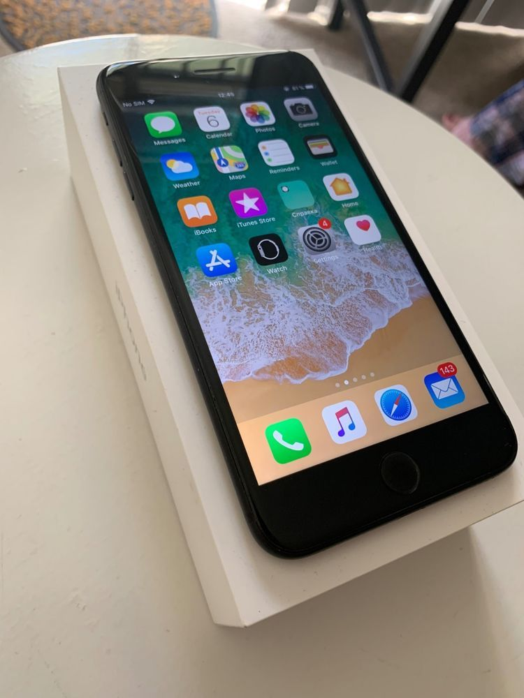 Iphone 7 Plus 128gb Black Matte Factory Unlocked Black Iphone 7 Iphone Organization Iphone 7 Black Matte