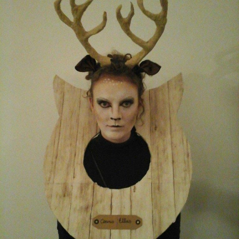 Deer hunter taxidermy carnival costume  sc 1 st  Pinterest & Deer hunter taxidermy carnival costume | Carnivale | Pinterest ...