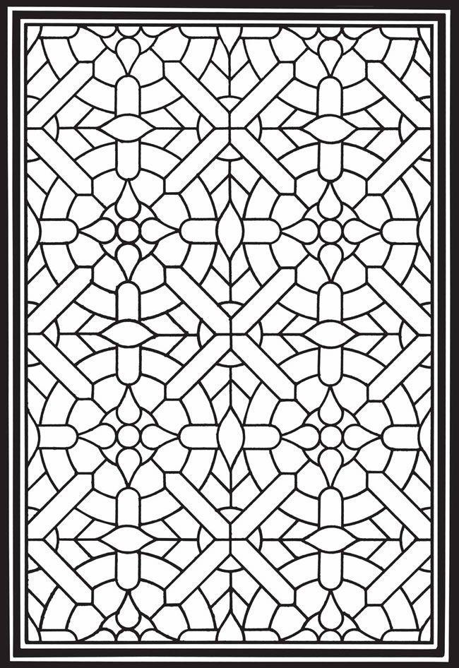 Un Autre Treillis Geometrische Malvorlagen Malvorlagen Mandala Malvorlagen