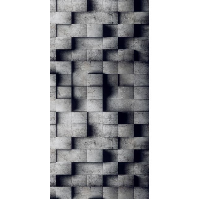 papier peint intiss 3d b ton cir l papiers de ninon autre adresse papier peint. Black Bedroom Furniture Sets. Home Design Ideas