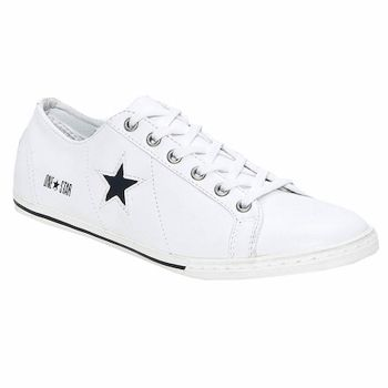 Baskets Converse ONE STAR LOW PROFILE OX Blanc / Noir