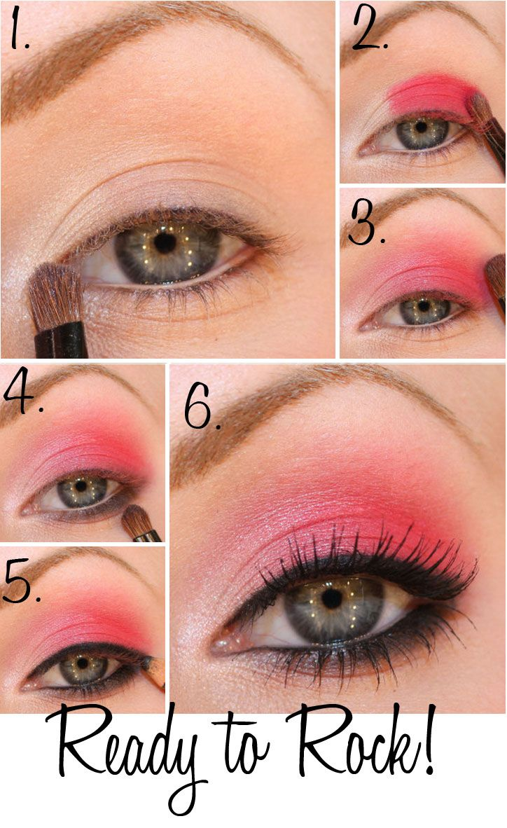 pink party makeup step by step | windows to the soul | party