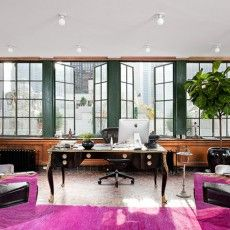 It ain   easy being green feminine office pink fashion also best images design interiors home decor rh pinterest