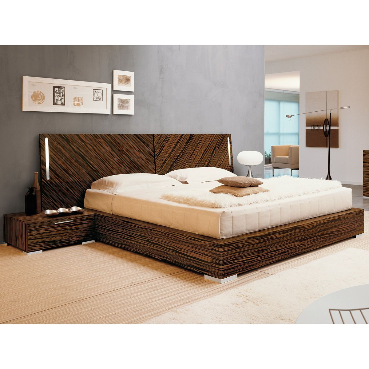 Webb Bed with Nightstands Bedroom sets furniture queen