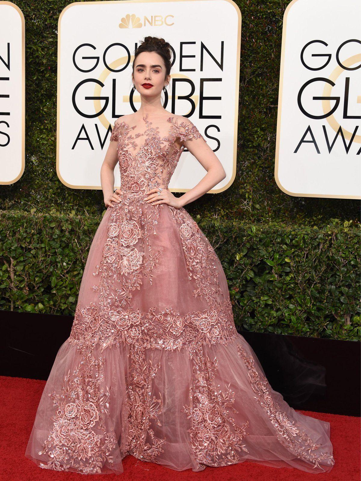 Golden Globes 2017: Die Bilder vom Red Carpet | Vestiditos, Oscars y ...