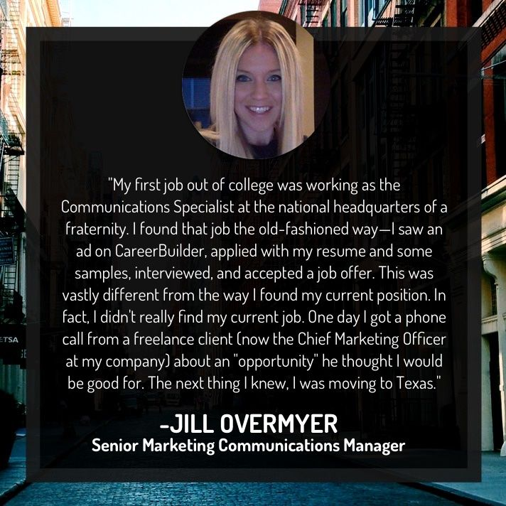 Jill Overmyer Senior Marketing Communications Manager English - careerbuilder resume