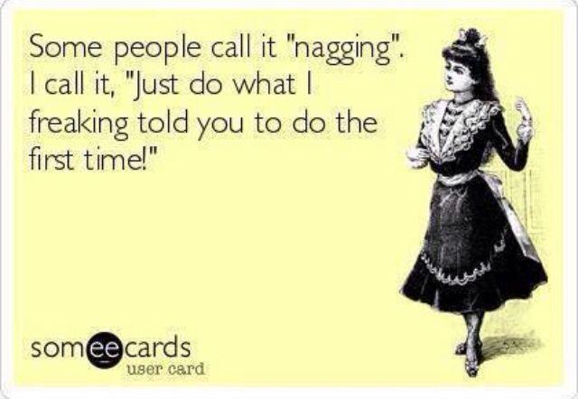 Nagging meme