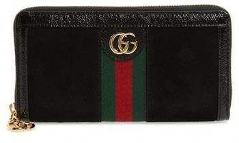 916e4e7ae5e0 Gucci Ophidia Suede Zip-Around Wallet #Designerhandbags   Designer ...