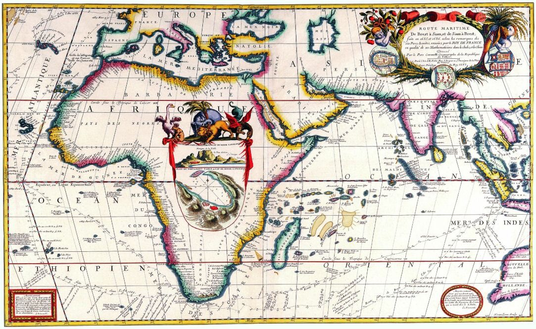 Old africa india history places old maps pinterest africa old africa india old world mapsold gumiabroncs Images