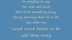 Take On Me Lyrics By A Ha Youtube Take On Me Lyrics Me Too