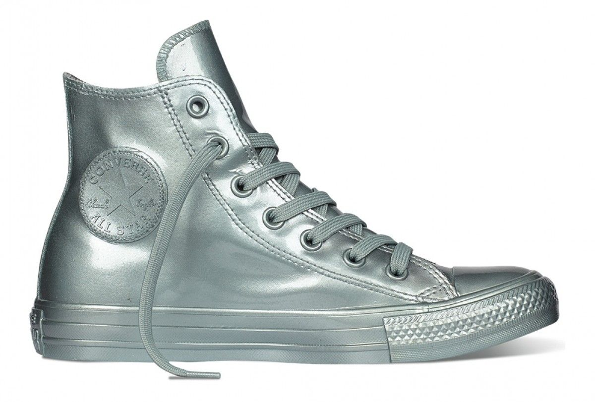 Converse Women's Chuck Taylor All Star Metallic Rubber Hi
