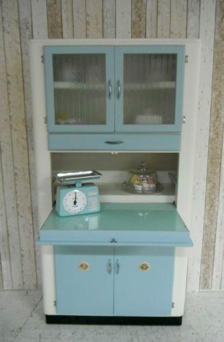 Vintage Retro Kitchen Cabinet Larder Kitchenette 50s 60u0027s Free Standing |  EBay