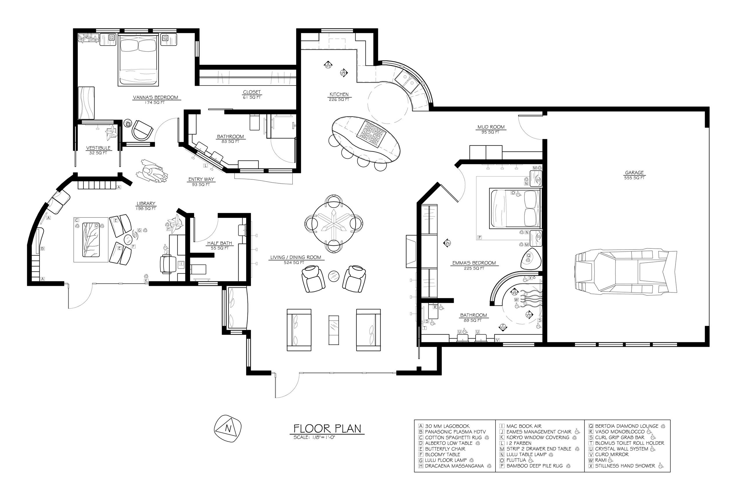 Passive Solar Floor Plan Jpg 2550 1718 Passive Solar House Plans Solar House Plans Bathroom Floor Plans