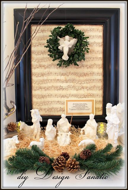 diy Design Fanatic: The Reason For The Season ~ Our Oldest Family Tradition