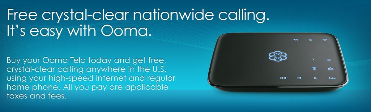 Ooma Telo Home Phone Free Voip Calls In The Us Home Phone Phone Phone Service