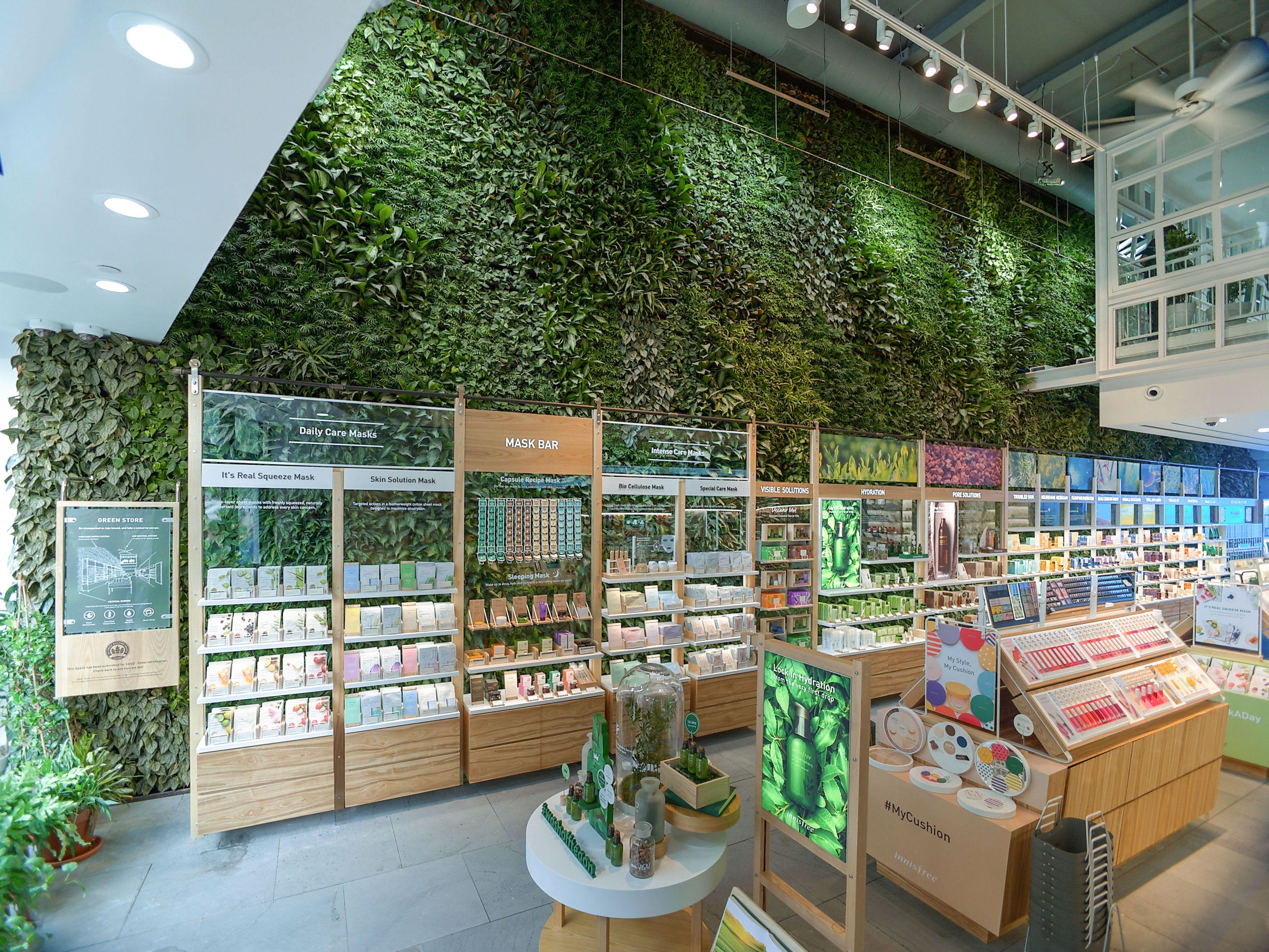 Innisfree NYC Flagship Store Plants, Garden, Living